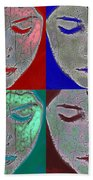 The Mask Beach Towel
