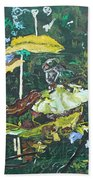 The Masquerade Dance Beach Towel