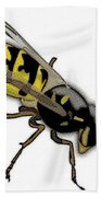 The Mighty Wasp Beach Towel