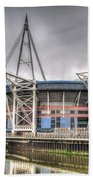 The Millennium Stadium Beach Towel