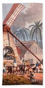 The Millyard, From Ten Views Beach Towel by William Clark