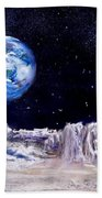The Moon Rocks Beach Towel by Jack Skinner
