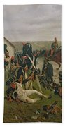 The Morning Of The Battle Of Waterloo Beach Towel