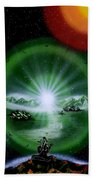 The Music Of The Universe Beach Towel