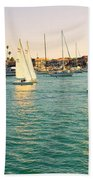 The Mystery Of Sailing Beach Towel