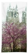 The National Cathedral  Beach Towel