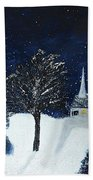 The Night Before Christmas Beach Towel