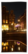 The Nine Streets Amsterdam Beach Towel