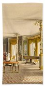 The North Drawing Room, Or Music Room Beach Towel