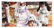 The Nuns Of Toledo 02 Beach Sheet