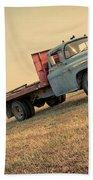 The Old Farm Truck Beach Towel