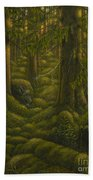 The Old Forest Beach Towel