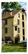 The Old Grist Mill  Paoli Pa. Beach Towel