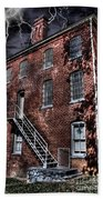 The Old Jail Beach Towel by Dan Stone
