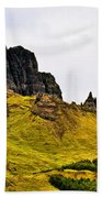 The Old Man Of Storr Beach Towel