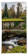 The Old Mill Beach Towel by Adrian Evans