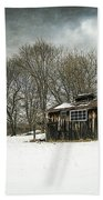 The Old Sugar Shack Beach Towel by Edward Fielding