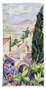 The Old Town Vaison Beach Towel