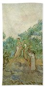 The Olive Orchard Beach Towel