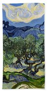 The Olive Tree Beach Towel