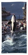 The Original Shamu Orca Sea World San Diego 1967 Beach Towel