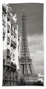 The Other View Of The Eiffel Tower Beach Towel