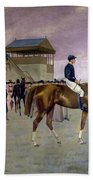 The Owner S Enclosure Newmarket Beach Towel by Isaac Cullen