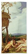 The Parable Of The Wheat And The Tares Beach Towel