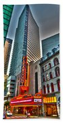 The Paramount Center And Opera House In Boston Beach Towel