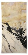 The Past Lingers Beach Towel