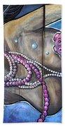 The Pearl Mermaid Beach Towel