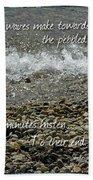 The Pebbled Shore 2 Beach Towel