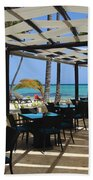 The Perfect Breakfast Spot Beach Towel