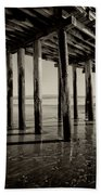 The Pier At Cayucos Beach Towel