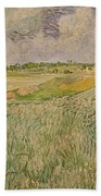 The Plain At Auvers Beach Towel