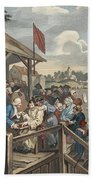 The Polling, Illustration From Hogarth Beach Towel