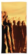 The Post Apocalyptic Gods Beach Sheet