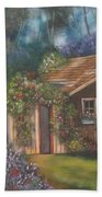 The Potting Shed Beach Towel