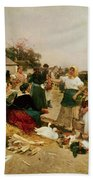 The Poultry Market Beach Towel