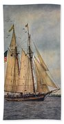The Pride Of Baltimore II Beach Towel