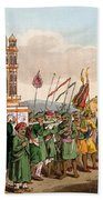 The Procession Of The Taziya, From The Beach Towel