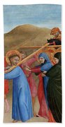 The Procession To Calvary Beach Towel