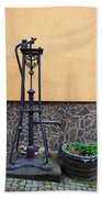 The Pump At St Goar Am Rhein Beach Towel