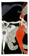 The Purchase  Beach Towel by Georges Barbier