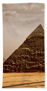 The Pyramids Of Giza Beach Towel