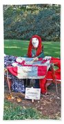 The Quilting Bee Scarecrows Beach Towel