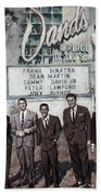 The Rat Pack Beach Towel