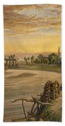 The Ravee River, From India Ancient Beach Towel