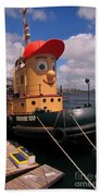 The Real Theodore Tug Boat Lives In Halifax Beach Towel