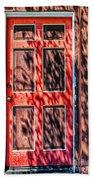 The Red Door Beach Towel